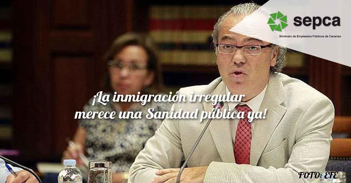 La inmigración irregular merece una Sanidad pública ya12